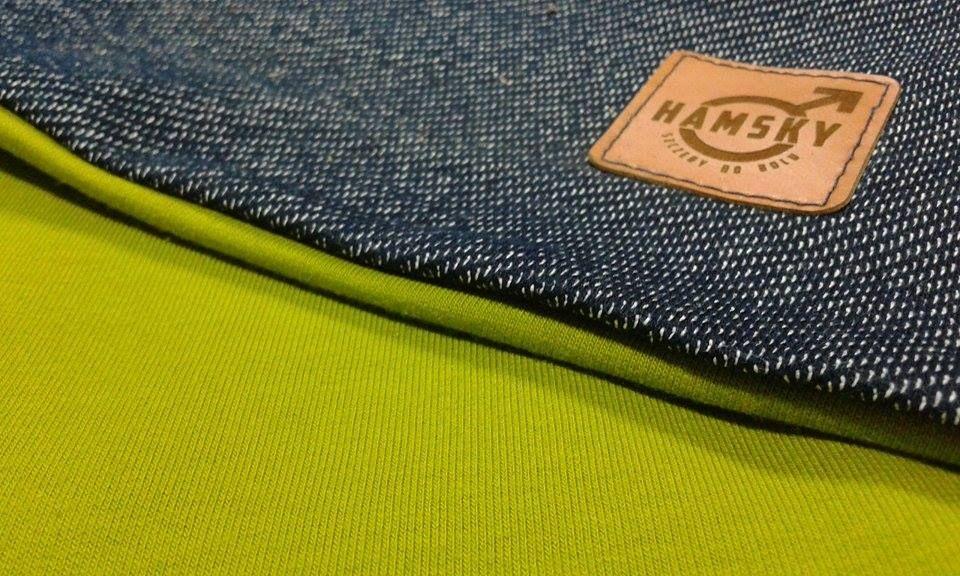 H jeans zielony